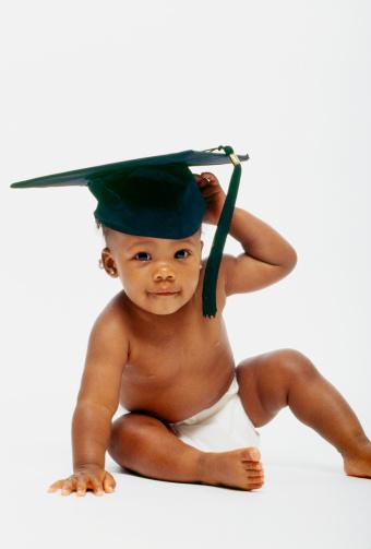 Baby graduates