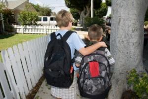 I let my kids walk to school!