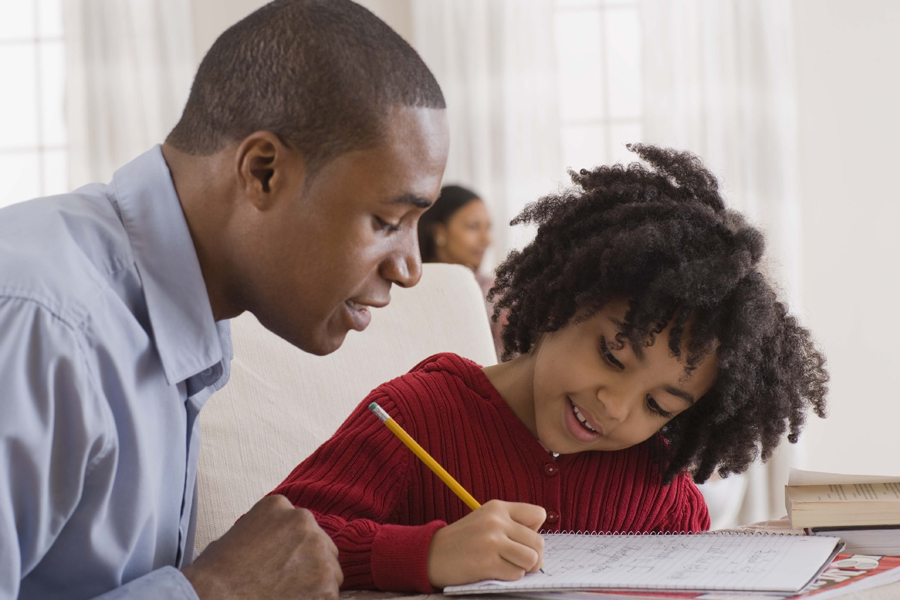 Helping with homework tips for parents