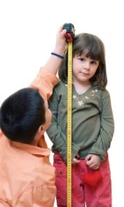 Measuring hight