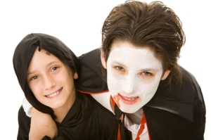 Halloween Kids - Brothers Portrait