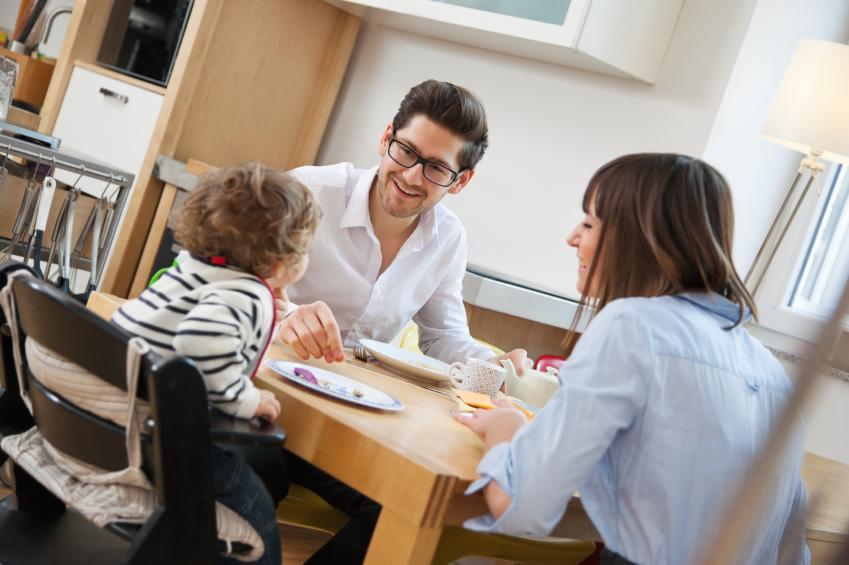 與孩子一起吃飯,可以增進感情