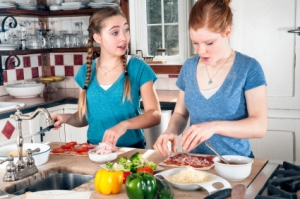 cooking teens