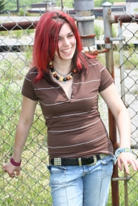 teen with red hair