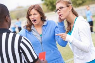 soccer moms yelling